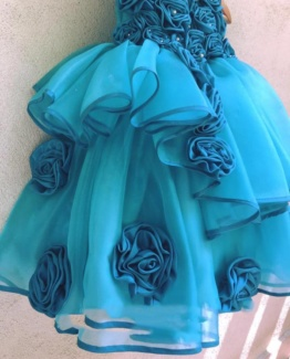 baby girl dresses in blue