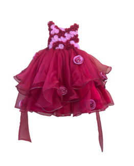 Pink dress for little girl