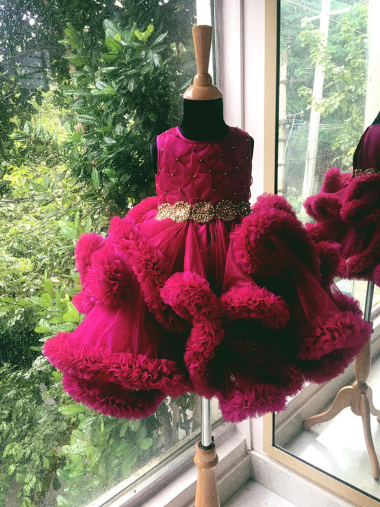 Red dress for little girls in Bangalore