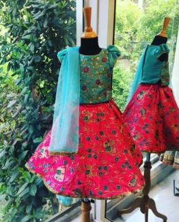 ethnic wear for girl flutterbows