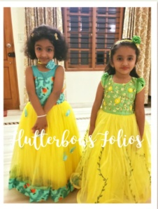 Twinning dresses for girls