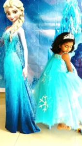 frozen elsa dresses for little girls