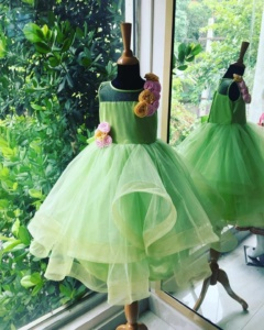 green dress for little girls