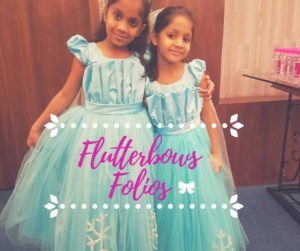 twinning frozen dress