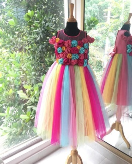 flower girl dress for little girls