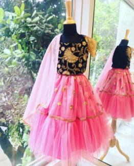 Mojave Ghagra Set Girls Dresses