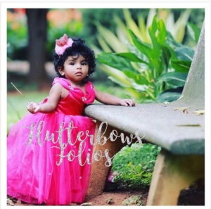 Pink Gown for Little Princess