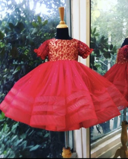 red-harmonica-dress-for-girls