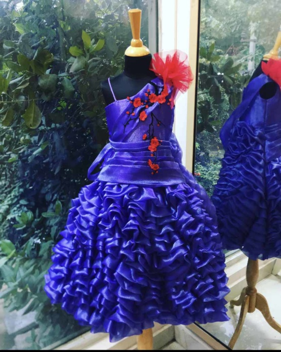 violet-layered-dress-for-girls