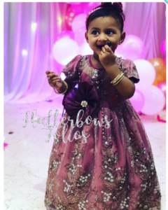 Pretty Pink Dress for Your Little Diva