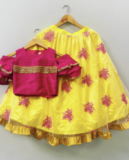 daisy-ghagra-dress-for-girls